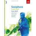ABRSM Grade 3 Saxophone Exam Pack From 2022