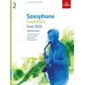 ABRSM Grade 2 Saxophone Exam Pieces From 2022