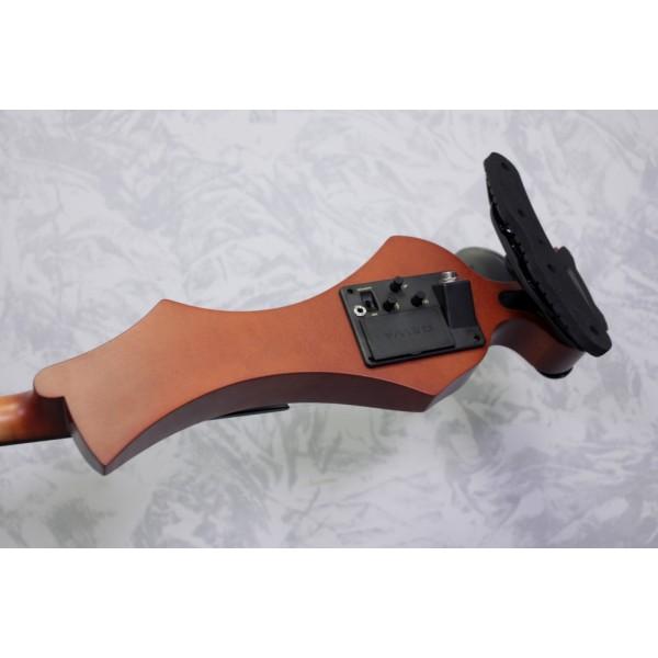 Gewa Novita Mk II Electric Violin Red/Brown