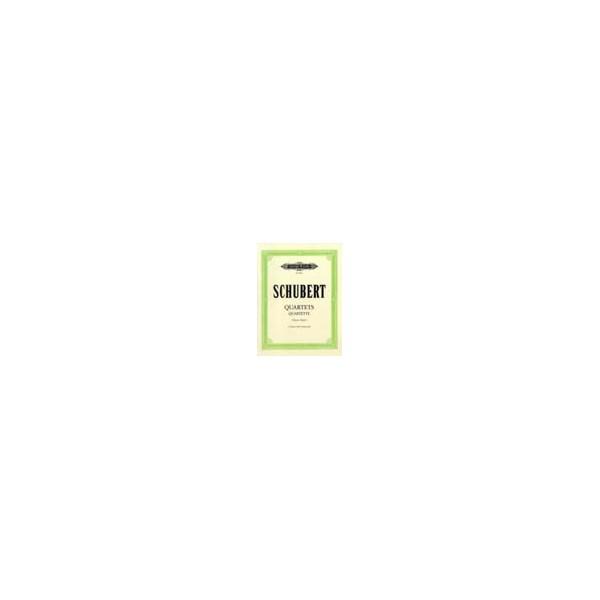Schubert, Franz - String Quartets, complete Vol.1