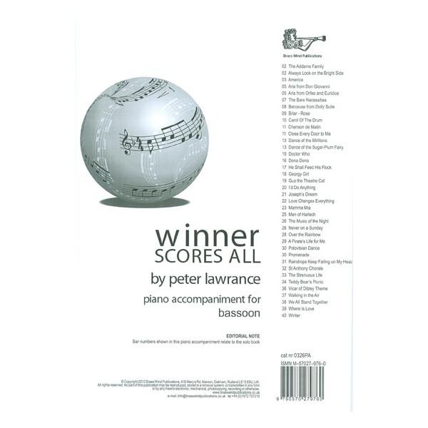 Winner Scores All for Bassoon