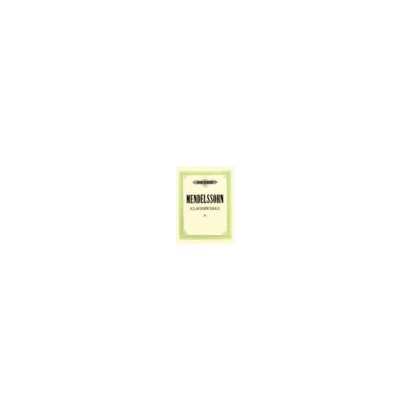 Mendelssohn, Felix - Complete Piano Works Vol.3