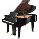 Yamaha S3X Grand Piano in black polyester