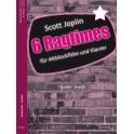 Joplin, Scott - 6 Ragtimes for Treble Recorder, Arr. Amandi