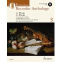 Baroque Recorder Anthology - Volume Three (includes Audio Download)
