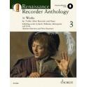 Renaissance Recorder Anthology Volume 3 (Includes Audio Download)