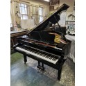 Pre-owned Yamaha C3 grand piano in black polyester