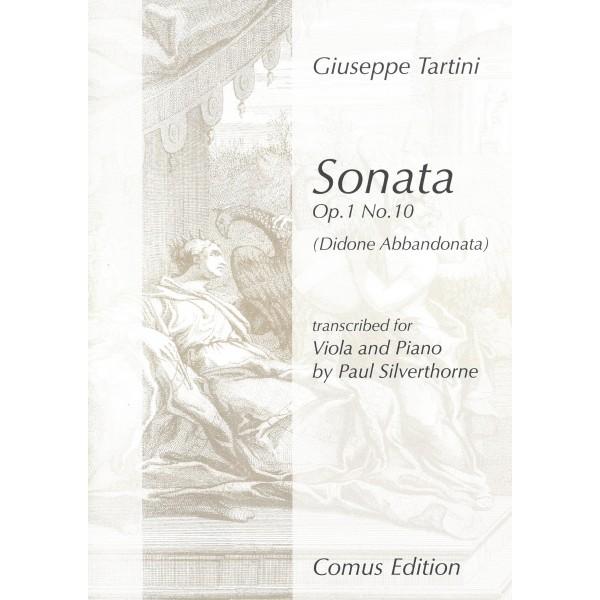 Tartini - Sonata Op. 1 No. 10 (Viola and Piano)