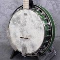 Ortega Falcon Series 5 String Electro Banjo Transparent Green
