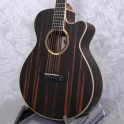 Tanglewood Discovery Exotic Super Folk Ebony Acoustic Guitar