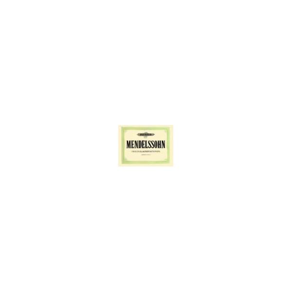 Mendelssohn, Felix - Original Compositions