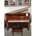 Preowned Schimmel Empire 112 upright piano in flame mahogany polyester