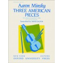 Minsky, Aaron - Three American Pieces