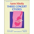 Three Concert Etudes - Minsky, Aaron