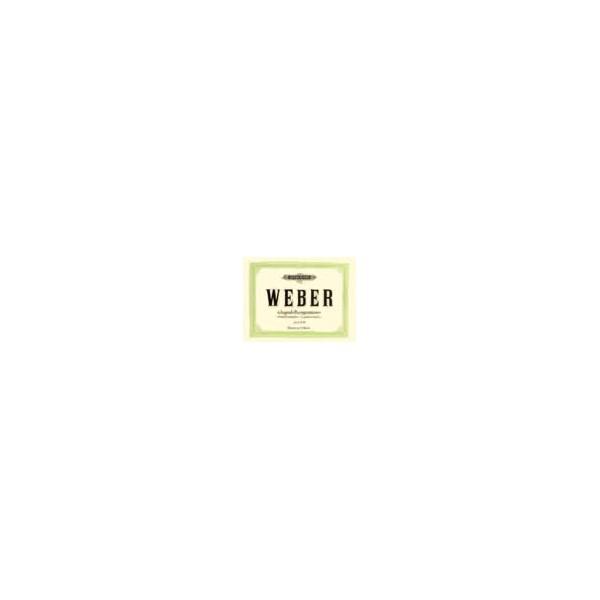 Weber, Carl Maria von - Compositions Vol.1