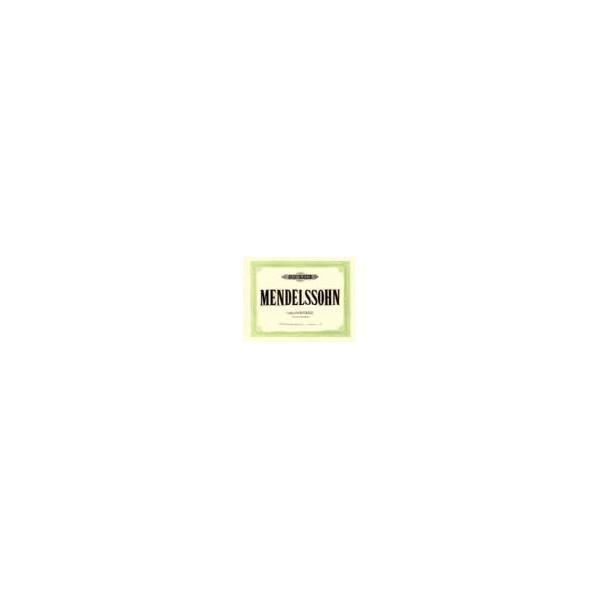 Mendelssohn, Felix - Organ Works Op.37