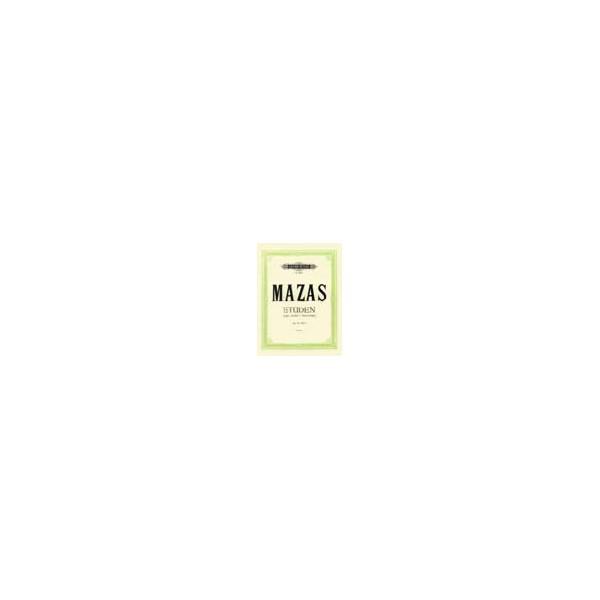 Mazas, Jacques-Féréol - Studies Op.36 Vol.1: Etudes spéciales