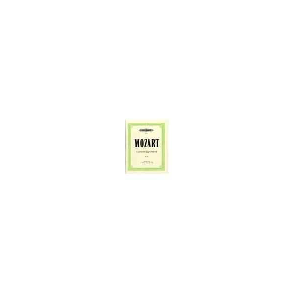 Mozart, Wolfgang Amadeus - Clarinet Quintet in A  K.581