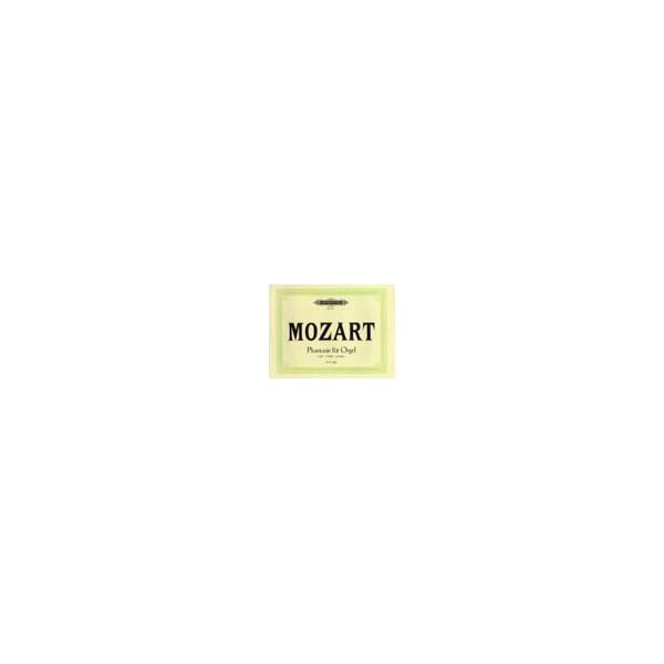 Mozart, Wolfgang Amadeus - Fantasia in F minor K608
