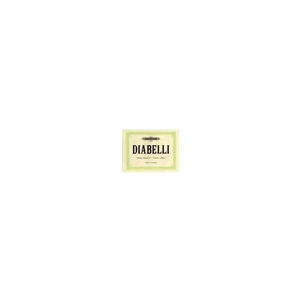 Diabelli, Anton - 2 Short Sonatas in C, G Op.150: Rondo Militaire in D