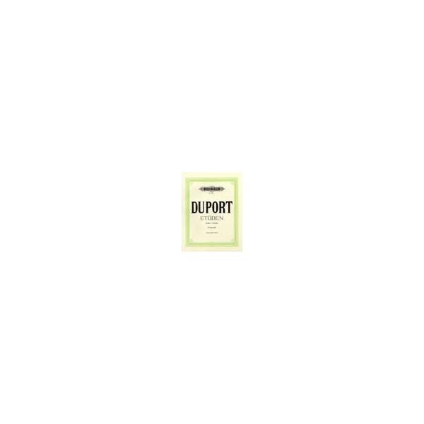 Duport, Jean-Louis - 21 Studies