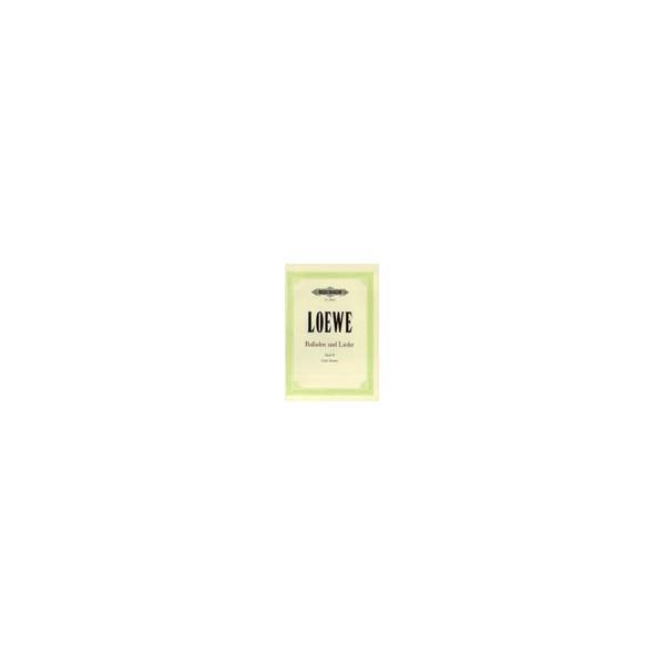 Loewe, Carl - 15 Ballads and Songs Vol.2