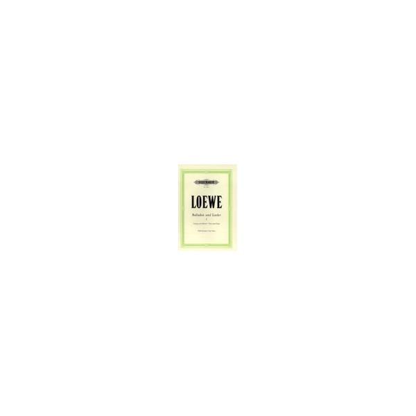 Loewe, Carl - 15 Ballads and Songs Vol.1