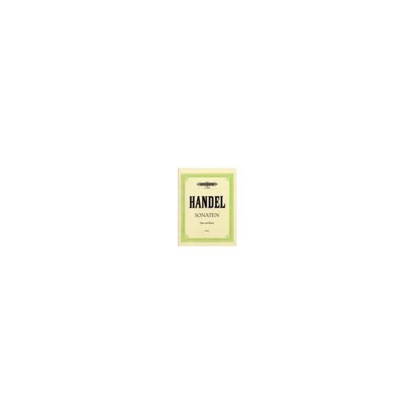 Handel, George Friederich - 2 Oboe Sonatas