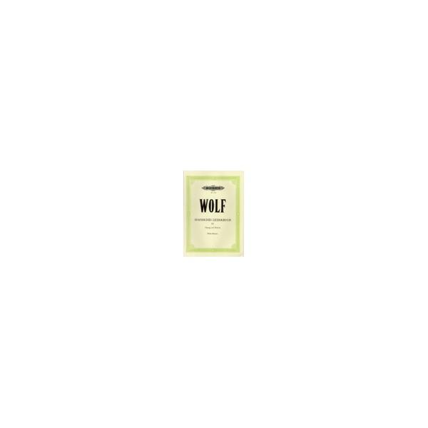Wolf, Hugo - Spanish Lyrics: 44 Songs Vol.4