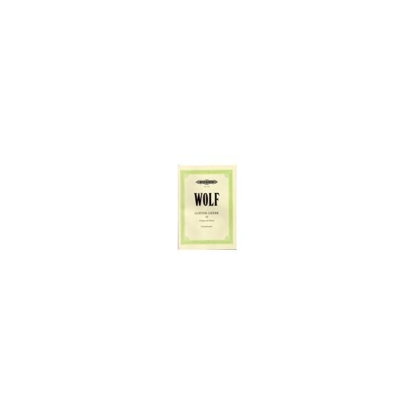 Wolf, Hugo - Goethe-Lieder: 51 Songs Vol.3