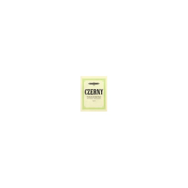 Czerny, Carl - 24 Studies for the Left Hand Op.718