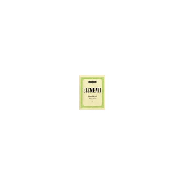 Clementi, Muzio - Sonatinas Op.36
