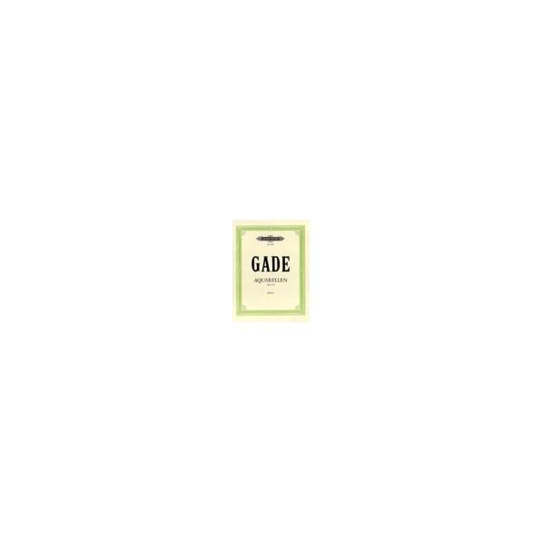 Gade, Niels - Aquarelles Op.19