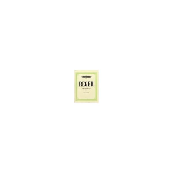 Reger, Max - 6 Burlesques Op.58