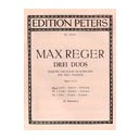 Reger, Max - 3 Duets Op.131b: No.1 in E minor