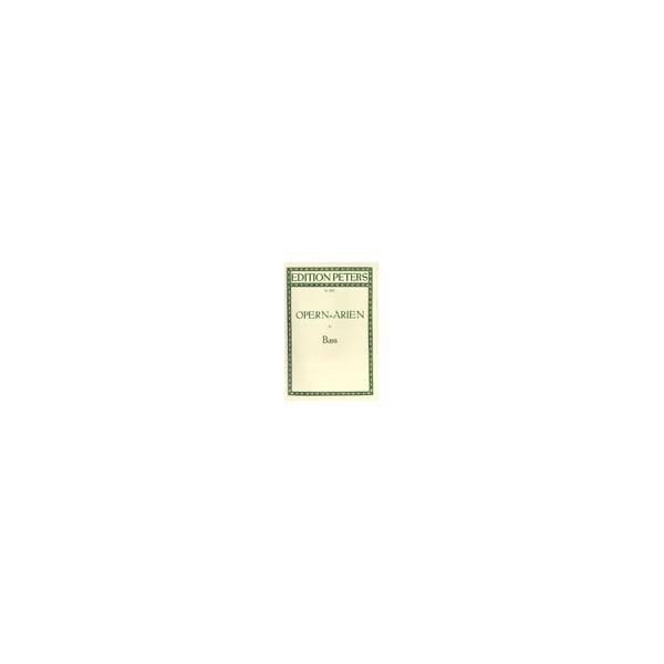 Album - Opera Arias for Bass