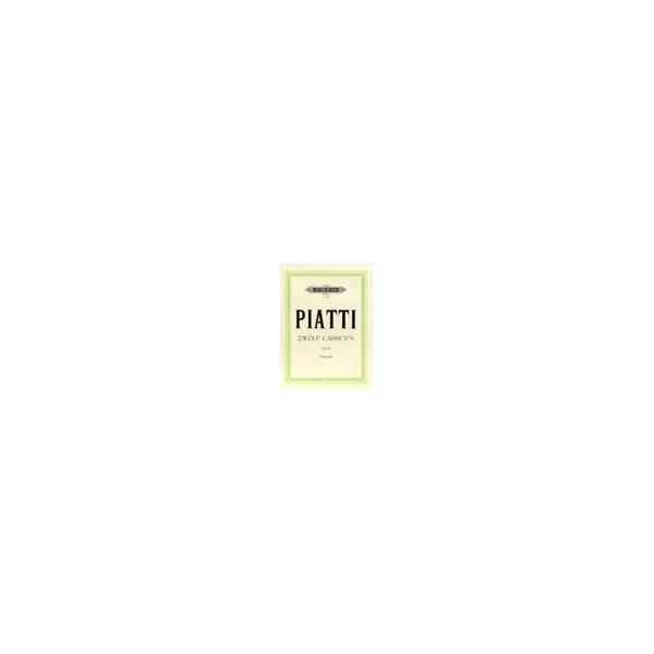 Piatti, Alfredo - 12 Caprices Op.25