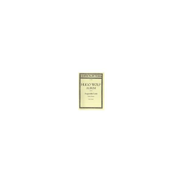 Wolf, Hugo - 51 Selected Songs