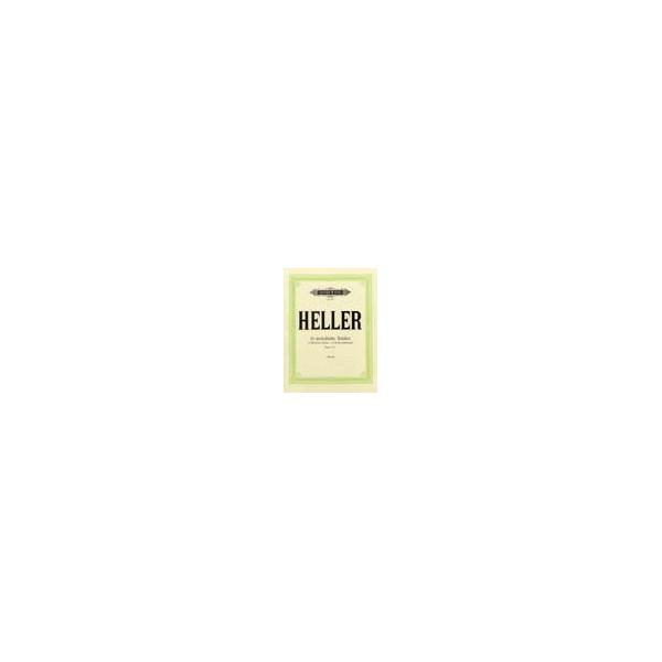 Heller, Stephen - 24 Melodious Studies Op.125