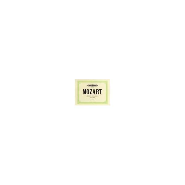 Mozart, Wolfgang Amadeus - Sonatinas