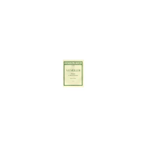 Muller, A. E. - Cadenzas to Mozarts Concertos