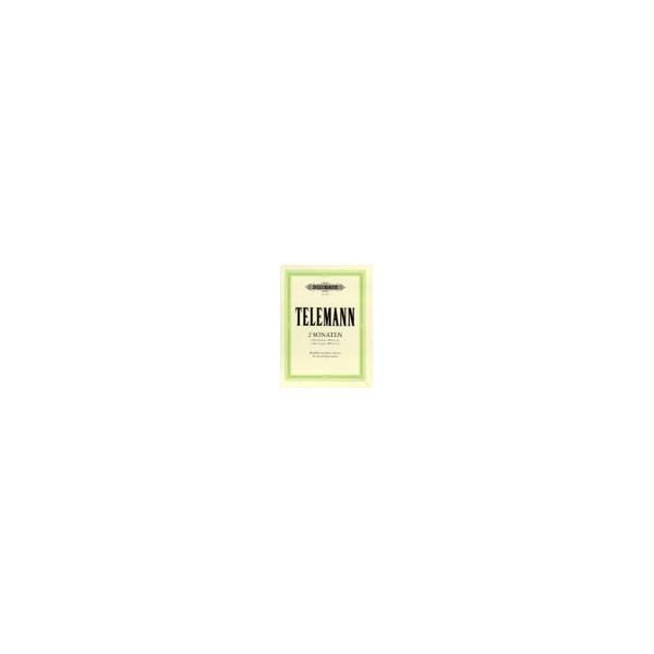 Telemann, Georg Philipp - 2 Sonatas in D minor, C from Essercizii Musici
