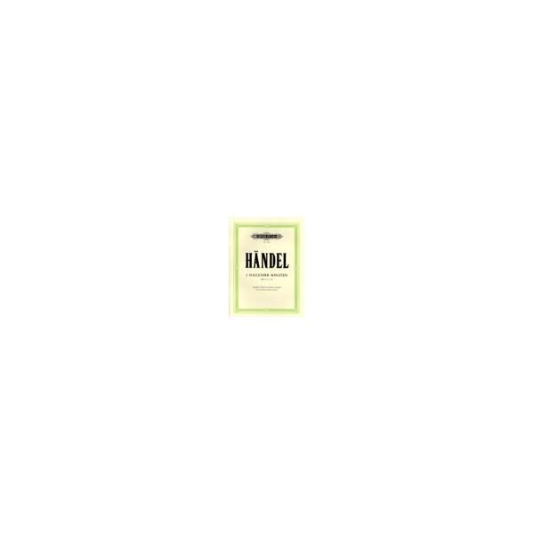 Handel, George Friederich - Flute Sonatas, Complete in 3 volumes, Vol.1