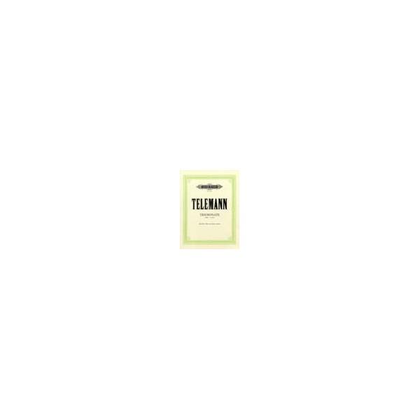 Telemann, Georg Philipp - Trio Sonata in C minor