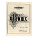 Grieg, Edvard - Two Brown Eyes/Zwei braune Augen, Op. 5 No.1: Departed/Geschieden, Op.25 No.5