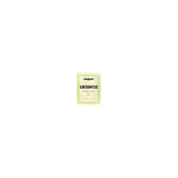 Shostakovich, Dmitry - 24 Preludes & Fugues Op.87 Vol.1