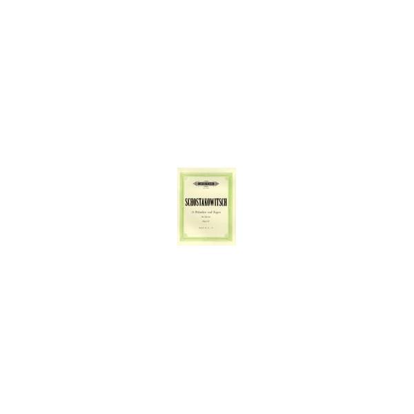 Shostakovich, Dmitry - 24 Preludes & Fugues Op.87 Vol.2