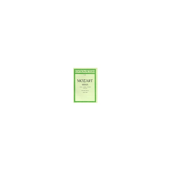 Mozart, Wolfgang Amadeus - Mass in C minor K427