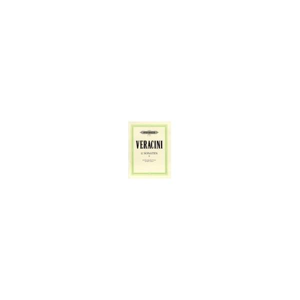 Veracini, Francesco Maria - 12 Sonatas Op.1 Vol.2