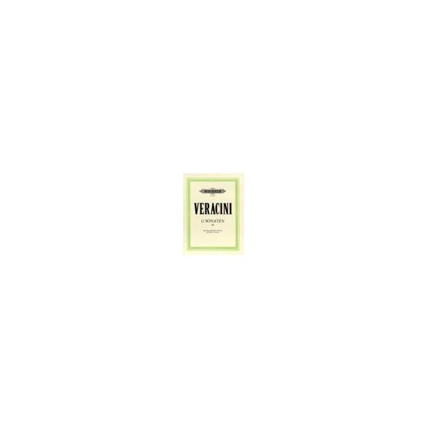 Veracini, Francesco Maria - 12 Sonatas Op.1 Vol.3